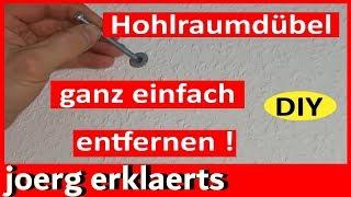 "Hohlraumdübel / Dübel entfernen  Remove dowel cavity Lifehack Vol.83 ""Küchenumbau Teil 3"""