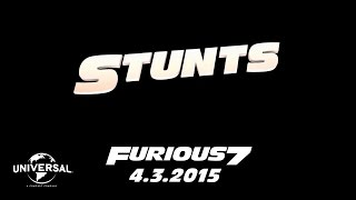 The Road to Furious 7 - Stunts (HD)