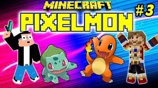 PIXELMON : Ep.3 - Du-Du-Duel !!!  - MOD Pokemon Minecraft [FR] [HD]