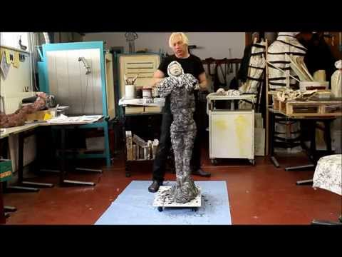 Making a sculpture of ceramic  Eddie Symkens