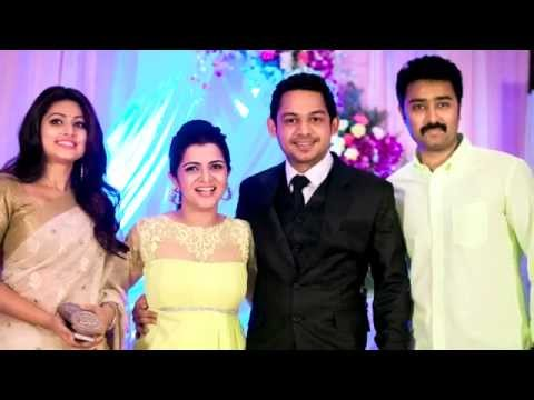 VijayTv Anchor DD Wedding Reception pictures - RedPix24x7