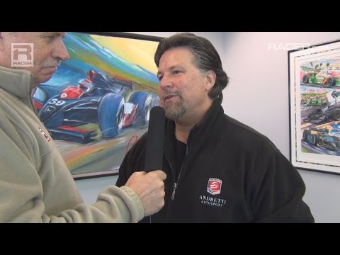 RACER: Robin Miller with Michael Andretti on Rossi