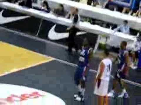 Tony Parker Boris Diaw Reverse Alley oop Team France Video