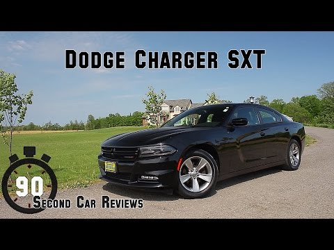 2015 Dodge Charger SXT 90 Second Car Reviews