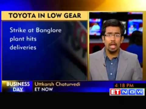 Labour unrest in Toyota plant hurting deliveries