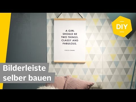 DIY – Bilderleiste im Scandi-Stil selber bauen | Roombeez - powered by OTTO