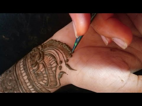 Trendy Fashion Bridal Henna Mehndi Design For Front Hand || Rakshabandhan Special ||❤