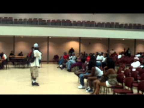 Dem Freshmen at Dirty Guy Week n Mobile, Al  Who Got Talent Teen at Bishop State Community College Central 7 20 2011
