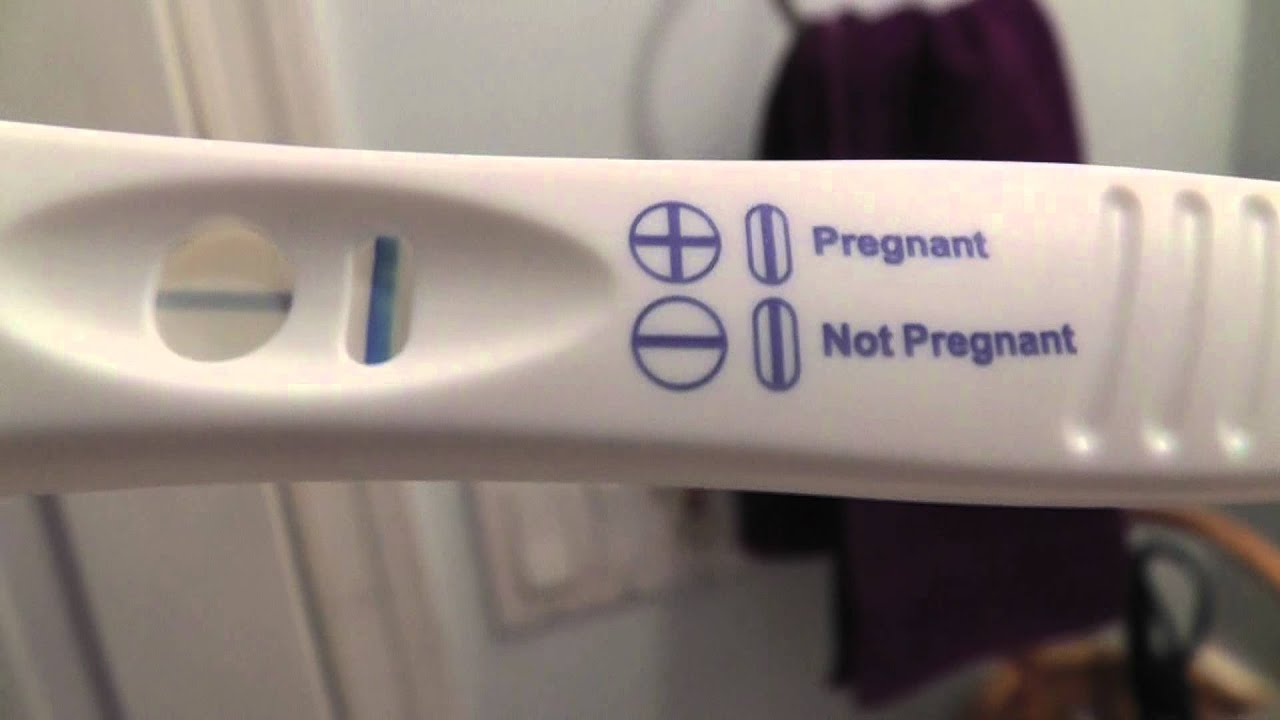 9DPO - LIVE PREGNANCY TEST ! - YouTube