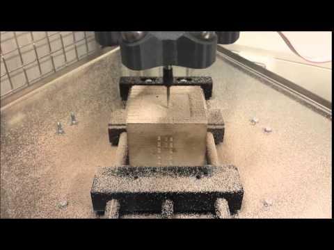 Delta VENLO - First test run CNC milling