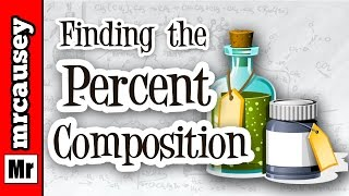 how to find percent composition by mass of a compound