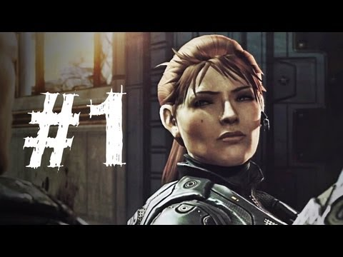 Gears of War Judgment Gameplay Walkthrough Part 1 - Intro - Campaign Chapter 1