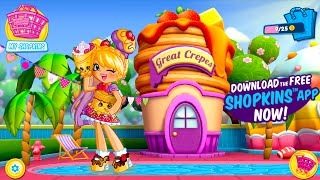Shopkins Welcome To Shopville Pam Cake App Update Pam Cake