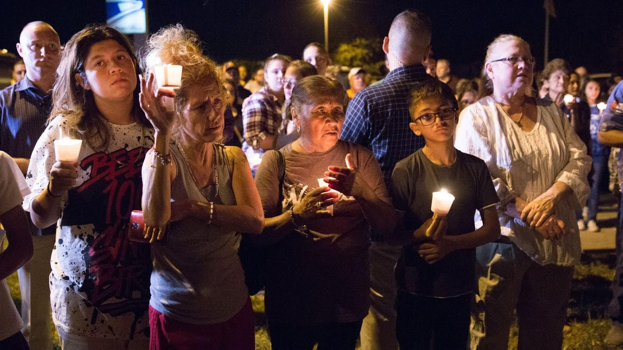 Prayers and vigils after church mass shooting in Texas