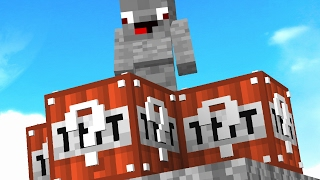 MLG TNT BOOST LUCKY BLOCK BATTLE! Minecraft LUCKY BLOCK BATTLE! Op GAMEPLAY! Minecraft Lucky Blocks