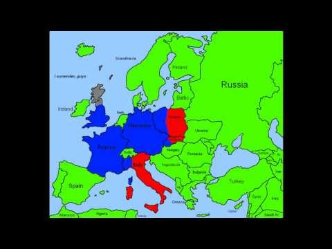 "Future of Europe - Part 1 ""Unions and First Wars"""