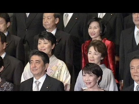 Japan PM Abe promotes women in cabinet reshuffle
