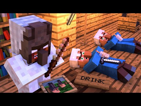 Granny vs Villager Life 2 - Minecraft Animation