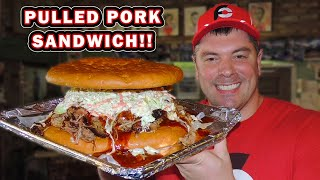 Saucy BBQ Pulled Pork Sandwich Challenge in Mobile, Alabama!!