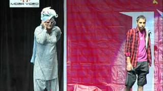 punjabi funny stage show Jaswinder Bhalla as Naughty Baba In  Towm  punjabi comedy drama