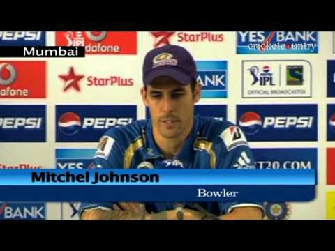 Tendulkar-Ponting partnership set the tone against Pune Warriors India, says Mitchell Johnson