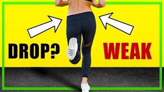 How to Fix a Hip Drop when Running - 3 Exercises for Trendelenburg Gait - Running Technique