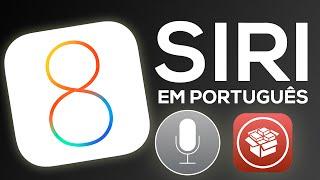 Siri em português (demonstração + tweak) - iOS 8