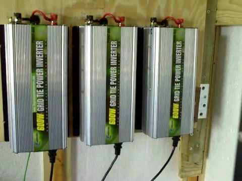 PowerJack 600W Grid Tie Inverters