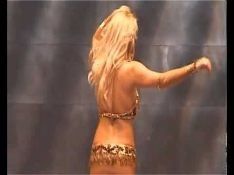 Jasmine Romanian blonde belly dancer woman oficial