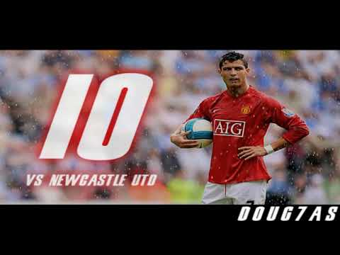Cristiano Ronaldo | Top 10 Free Kicks in Manchester United | HD Video