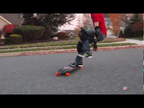 One Footed 180 Slide - Nelson Longboards Trick Tips