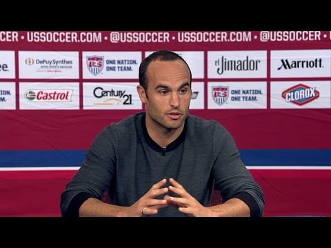 Landon Donovan at ESPN before his Final U.S. Men's National Team Game