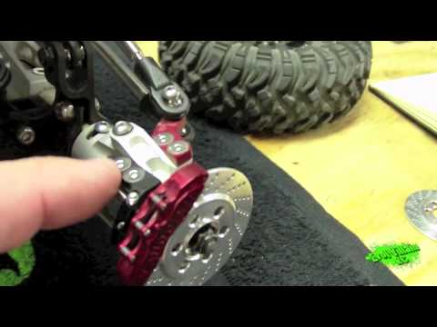 New scale part! VP Brake Kits for your Axial Wraith!