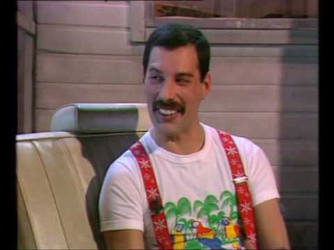 Freddie Mercury last vocal interview before dying - YouTube