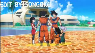 Goku si trasforma per la prima volta in Super Saiyan God [ITA]