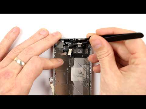iPhone 4S Power Button and Proximity Sensors Replacement Disassembly and Reassembly - CRAZYPHONES
