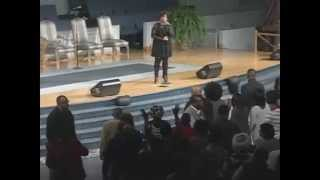 Pastor Lisa Page Brooks -New Year's Eve 2014 at St. Peter's Church and World Outreach Center