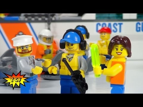 LEGO CITY Coast Guard Patrol Review - LEGO 60014