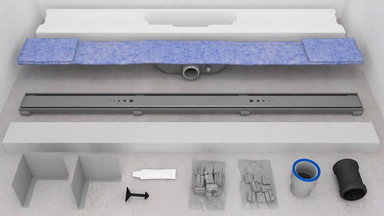faire une douche italienne avec caniveau. Black Bedroom Furniture Sets. Home Design Ideas