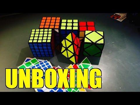 Big Cubicle SpeedCubes Unboxing!!