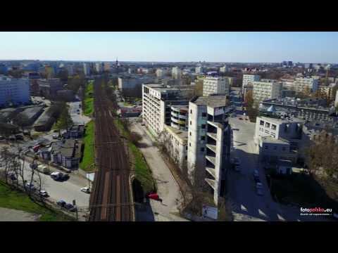 Rozbiórka Wielopoziomowego Parkingu We Wrocławiu