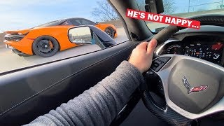 $400,000 Mclaren 720S Gets EMBARRASSED By ZR1!!! OWNER DEMANDS REMATCH With GT2RS