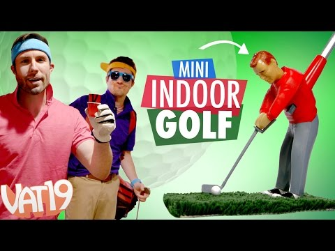 Play Golf Indoors!