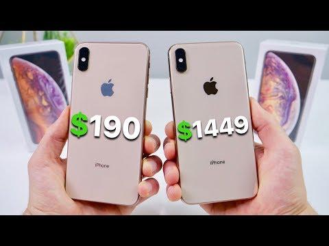 Download $190 Fake iPhone XS Max vs $1449 XS Max! NEW Mp4 baru