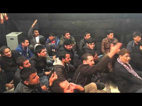 25 Rajab 1437 Mir Hassan Mir In Germany Boon QBH Azakhana e Darr e Batool swt