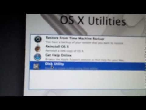 How to restore MacBook pro