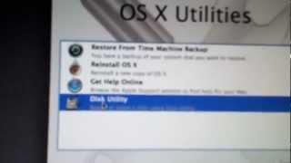 How to restore MacBook pro