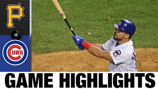 Ian Happ, Javier Báez, Kyle Schwarber power Cubs to win | Pirates-Cubs Game Highlights 8/1/20
