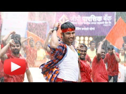 Go Go Govinda - Pg Dahi Handi Song Making - Sharad Kelkar, Spruha Joshi, Umesh Kamat! video