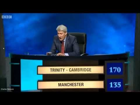"""University Challenge - """"Well what else is it going to be?"""""""